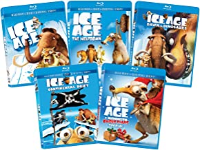 Ice Age 1-4 Collection & Ice Age Christmas