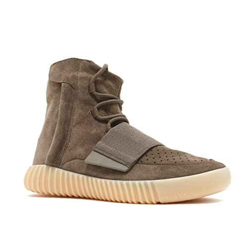 brand new a0457 3c88f adidas Mens Yeezy Boost 750 Kanye WEST Chocolate Brown Gum Suede Size 12