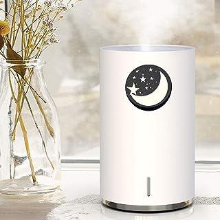 加湿器 卓上 車載 ライト付き オフィス USB 超音波式 大容量 ダイニチ 気化式 usb 卓上超音波式 おしゃれ 加湿器,白