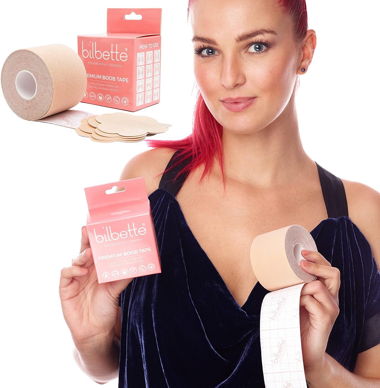 Brust mit klebeband pushen