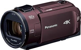 パナソニック 4K ビデオカメラ WZX2M 64GB ワイプ撮り 光学24倍ズーム カカオブラウン HC-WZX2M-T