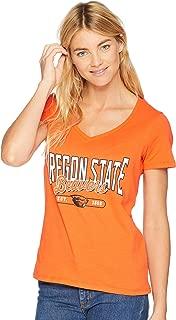 Champion College Women's Oregon State Beavers University V-Neck Tee