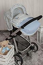 Babyline Caramelo - Saco porta bebé, grupo 0, color azul