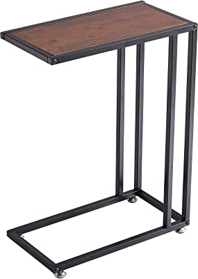 Loglus Side Table/End Table Multipurpose Table for Living Room, Office, Easy Assembly