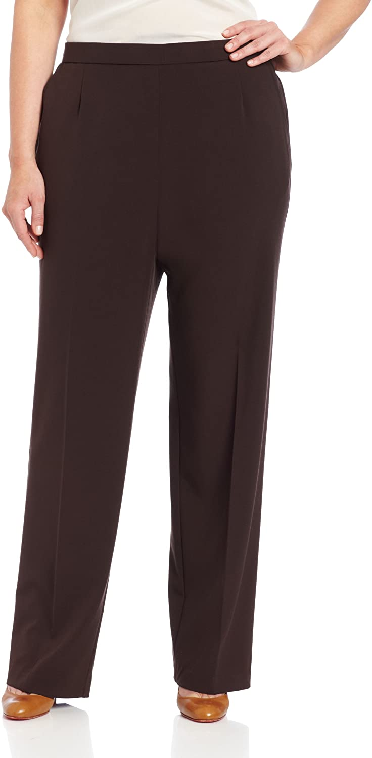 Briggs New York Women's Plus-Size All Around Comfort Pant at  Women's Clothing store