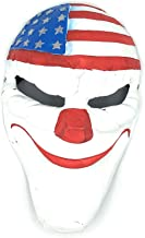 Payday 2 Dallas Fiber Glass Mask for Halloween, Cosplay, Concerts & Festivals