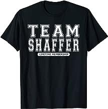 Team SHAFFER Family Surname Reunion Crew Member Gift T-Shirt