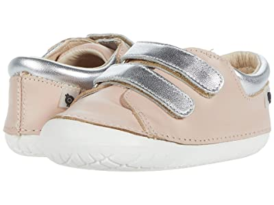 Old Soles Insta-Kick (Infant/Toddler) (Powder Pink/Silver) Girl