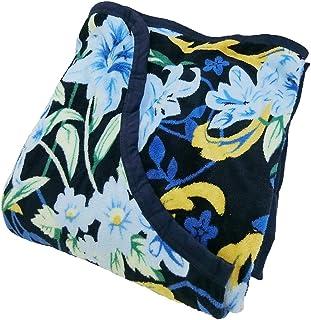 NaturalHouse くり衿 毛布 珊瑚マイヤー シングルロング 140×230 SL ブランケット (ブルー)