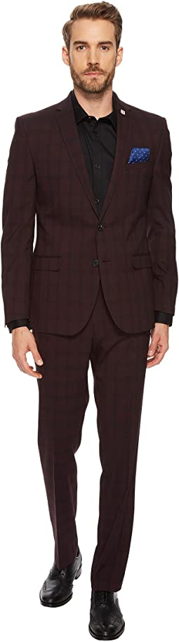 Nick Graham Evening on Mars Windowpane Suit
