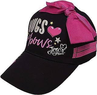 Nickelodeon JoJo Siwa Hugs Bow Girls Baseball Cap Hat, Age 4-7 Black/Pink