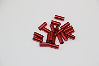 KINGSTOP JIM 20 Pieces of Bicycle Brake Cable housing Cap end tip Shift Cable housing Cap end tip