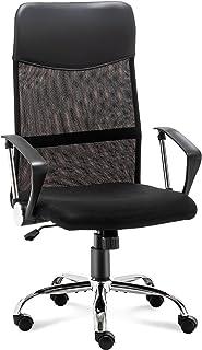 STmeng オフィスチェア デスクチェア ワークチェア ハイバック事務椅子 人間工学椅子 メッシュチェア 通気性 ランバーサポート コンパクト 座面昇降 360度回転 パソコンチェア