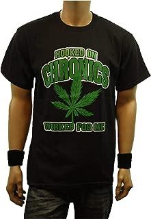 Graphic T-Shirt Weed Marijuana Cannabis Short Sleeve English Printed Hip Hop Funny Tee