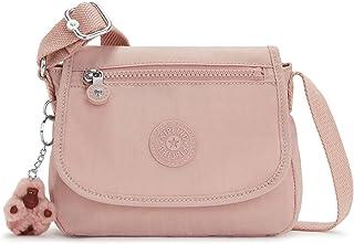 حقيبة كروس نسائية ميني من كيبلينغ سابيان، حقيبة للاستخدام اليومي خفيفة الوزن، حقيبة كتف نايلون