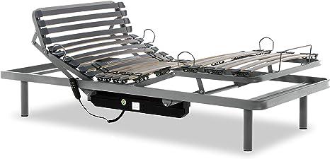 Gerialife® Cama Articulada Eléctrica Reforzada (105x190 ...