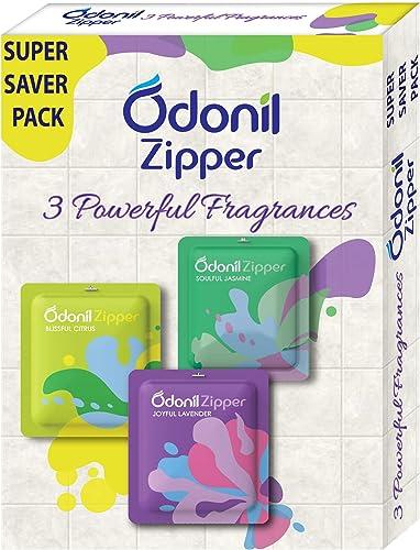 Odonil Bathroom Air Freshener Zipper Mix 10 g Pack of 3