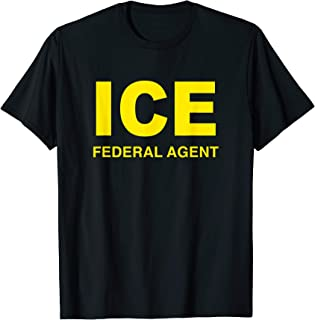 ICE Halloween Costume Federal Agent Police Immigration Shirt