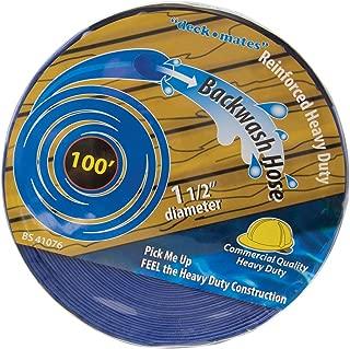 Blue Torrent BS 41076 Commercial Backwash Hose for Swimming Pools, 100' x 1.5