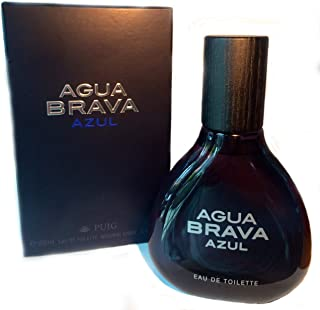 Agua Brava New! Agua Brava Azul for Men Eau De Toilette 100ml  3.4 Fl.oz By Puig by Puig