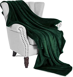 Exclusivo Mezcla Large Flannel Velvet Plush Throw Blanket - 50
