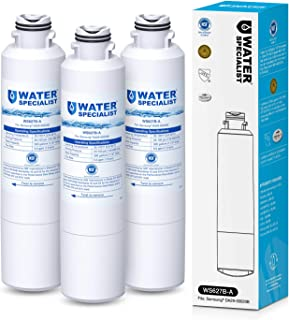 Waterspecialist DA29-00020B Water Filter, Replacement for Samsung HAF-CIN, HAF-CIN/EXP, DA29-00020A, DA97-08006A, Kenmore 46-9101, RF28HFEDBSR, NSF 53&42 Certified, Pack of 3(package may vary)