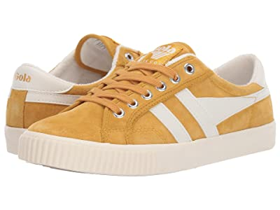 Gola Tennis Mark Cox Suede (Sun/Off-White) Women