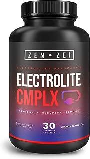 ZEN ZEI | ELECTROLITE COMPLEX - Complejo de Electrolitos Avanzados 100% Natural — Formulado para: Rehidratar, Recuperar, Reponer — Todos los Electrolitos Necesarios Para Tu Cuerpo — Cápsulas Veganas
