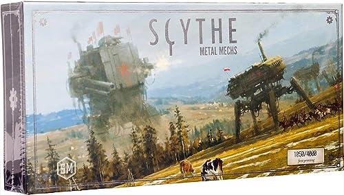 buena reputación Stonemaier Stonemaier Stonemaier Games Scythe Metal MECHS  nuevo listado