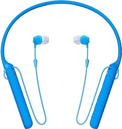 Sony WI-C400 Wireless Stereo in-Ear Headphone (Blue)