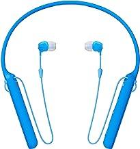 Sony – C400 Wireless Behind-Neck in Ear Headphone Blue (WIC400/L)