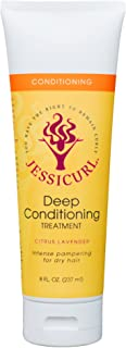 Jessicurl Llc. Llc. Deep Conditioning Treatment, Citrus Lavender Intense Pampering for Dry Hair, 8 Oz