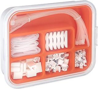 Ikea Fixa 114 Piece Set TV Computer Cable Management System