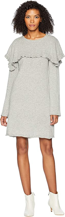 Sweater Dress with Cape
