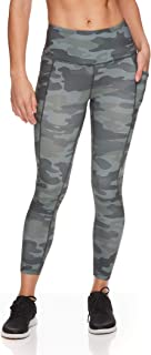 Women's 7/8 Workout Leggings w/High-Rise Waist - Performance Compression Athletic Tights