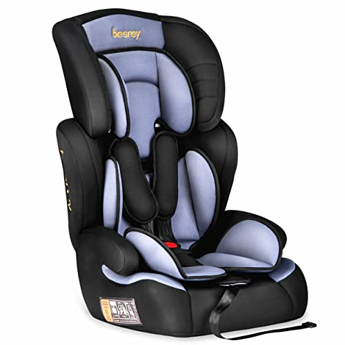 6dd55ff0ac54 Besrey Car Seat Baby Car Booster Seat Group 1 2 3 Suits from 9 Months-