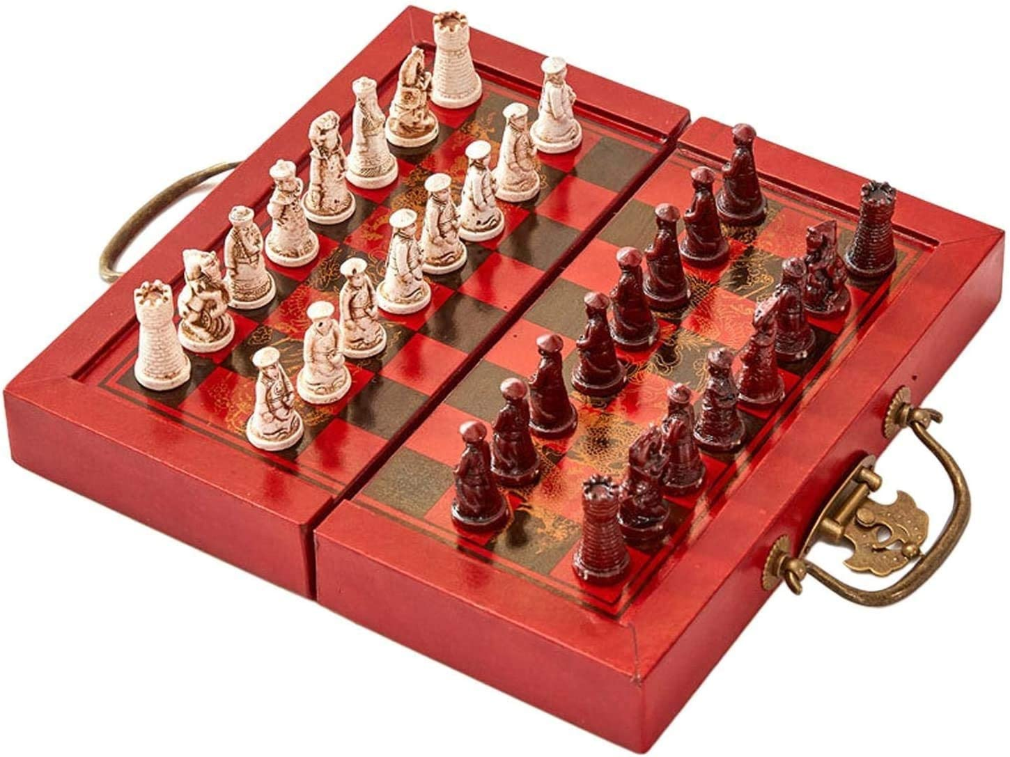 GXBCS Chess Set Portable Travel Kids Max 42% OFF for Board Charlotte Mall Game Be