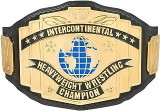 WWE Black Intercontinental Championship Replica Title Belt