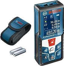 Bosch Professional Laserafstandsmeter GLM 50 C (gegevensoverdracht via Bluetooth, 360° hellingsensor, bereik: 0,05–50 m, 2...