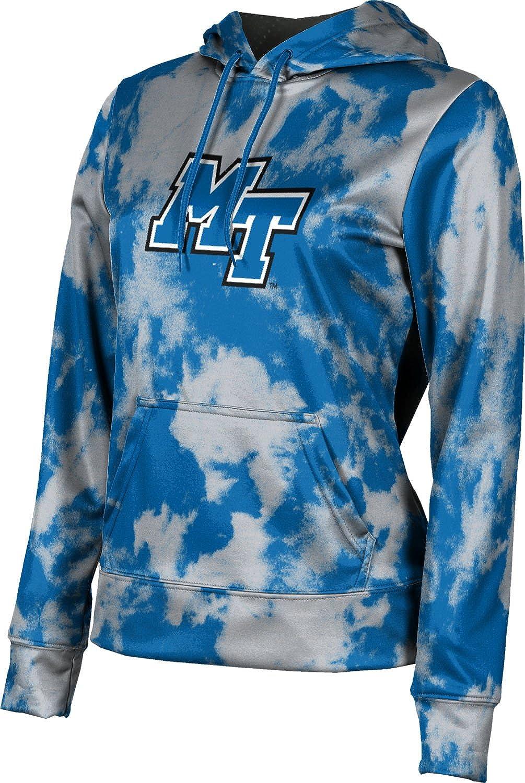 ProSphere Middle Tennessee State University Girls' Pullover Hoodie, School Spirit Sweatshirt (Grunge)