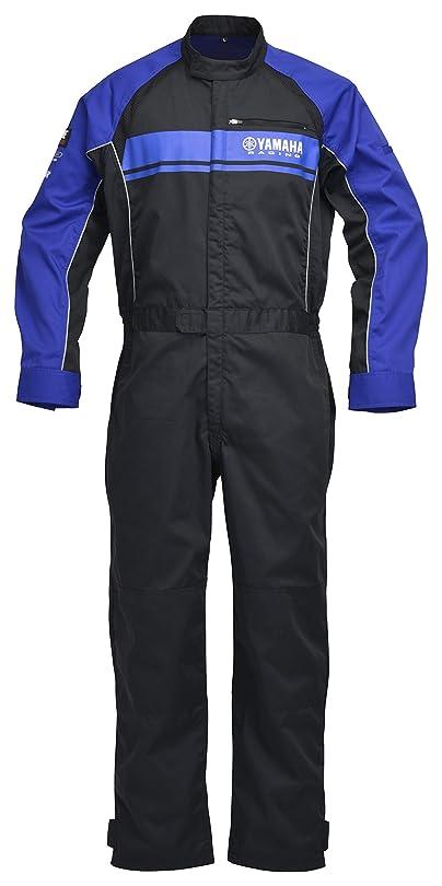 歯六分儀布ヤマハ(YAMAHA) メカニックスーツ ヤマハレーシング YRM16 ワークスーツ 長袖 2019-2020年モデル ブルー Mサイズ 90792-Y099M