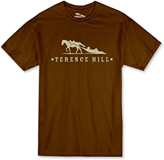 Terence Hill Official T-Shirt Logo (Braun) (M)