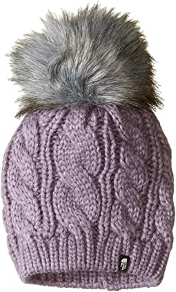 Oh-Mega Fur Pom Beanie (Big Kids)