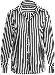 Women's Fashion Women's Striped Casual Top T-Shirt Shirt