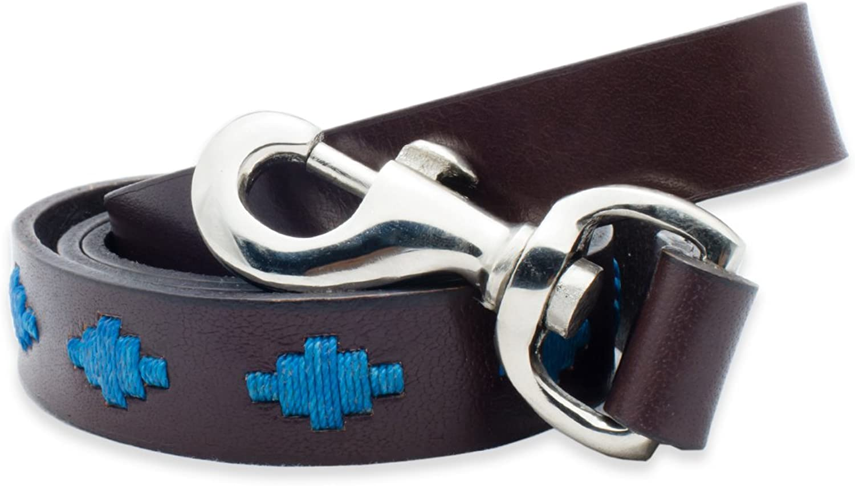 Gaucho Goods Premium Hand Stitched Leather Dog Leash (Tahoe, 4 Feet)
