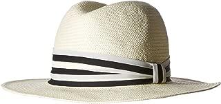 Gottex Ava Panama Fedora with Striped Trim Adjustable & UPF Rated