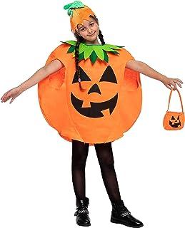 Spooktacular Creations Child Unisex Big Pumpkin costume Set for Halloween Trick-or-Treating