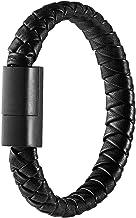 UKCOCO Cable de Tipo C, Cable de Carga Trenzada de 20 cm Cable de sincronización de Datos de Cable de Carga USB para Samsung Galaxy S9 / S8 Huawei P20 Google Pixel LG y Otro Dispositivo de Tipo C