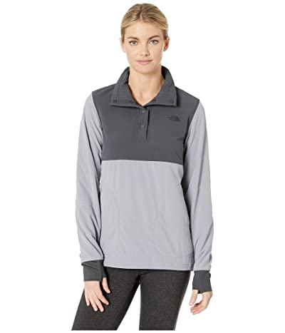 The North Face Mountain Sweatshirt Pullover (Asphalt Grey/Mid Grey) Women