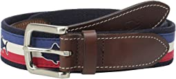 Tuna Flag Stripe Canvas Club Belt